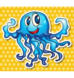 Jelly fish vector image vector image