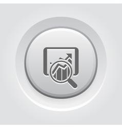 Sales statistics icon business concept vector