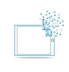 Smartphone technology vector