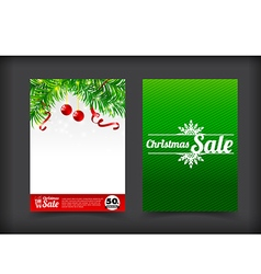 014 collection of merry christmas coupon card vector