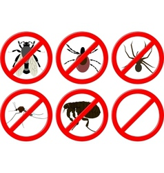 no insects vector image