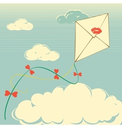 Envelope flies vector