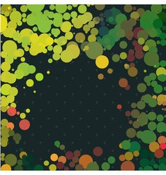 Green dot plus background vector