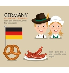 German culture design vector
