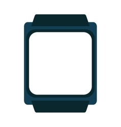 Watch smart wearable icon vector