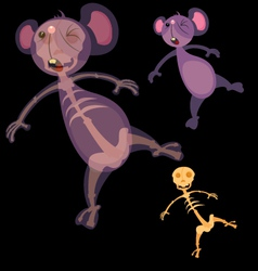 mice electrified vector image