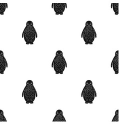 Penguinanimals single icon in black style vector