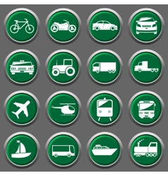 Transporter icons vector image vector image