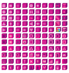 Web icons set infographics media and vector
