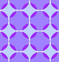 Colored intersecting circles seamless vector
