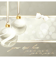 cream-colored banner vector image