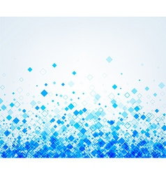 Background with blue rhombs vector