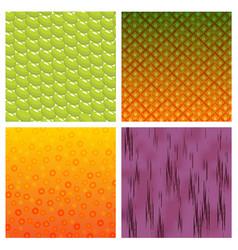 fruit texture vector image vector image