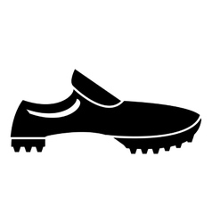 Men sneakers icon simple style vector