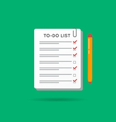 To-do list or checklist icon can be used as logo vector