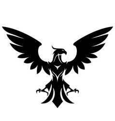 Stylized eagle vector