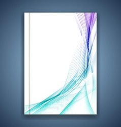 Abstract transparent modern background print vector