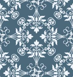 Floral heraldry pattern vector