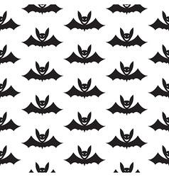 Bat halloween seamless pattern vector