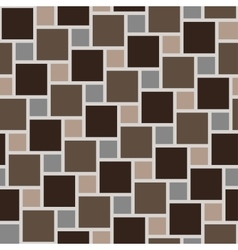 Brown tiles seamless pattern vector