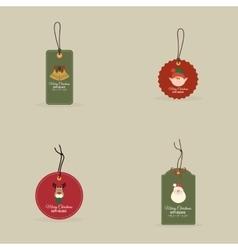 Cartoon Christmas Objects vector image