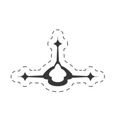 decoration ornament element design vector image