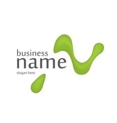 Letter N logo design vector image vector image