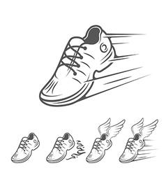 Marathon 4 vector image