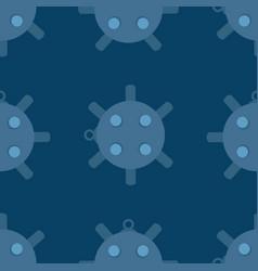 naval mine seamless pattern vector image