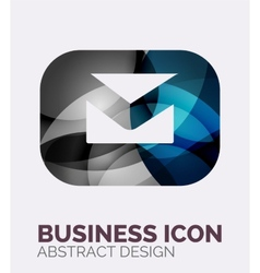 Abstract business logo vector