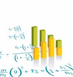 Bar graph vector
