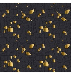 Abstract metal gold leaf pattern gold particles vector