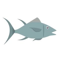 Atun fish sealife food vector