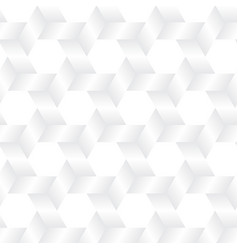 geometry of weave hexagon vector image vector image