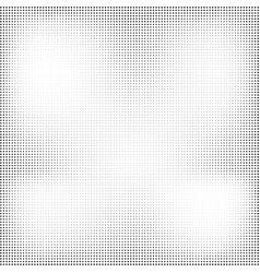 grunge halftone texture dots retro vintage vector image