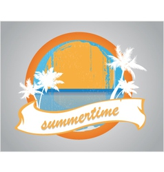 Summertime vector