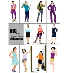 Womans fashion vector