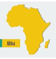 africa vector image