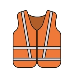 Jacket of industrial security design vector