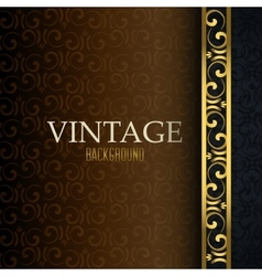 Vintage retro background vector