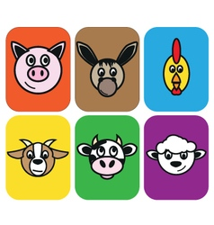 Animal farm vector
