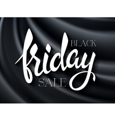 Black friday poster with vector