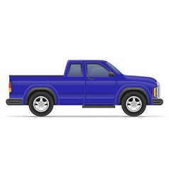 car pickup 06 vector image vector image