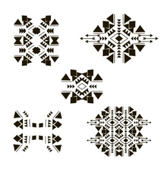 tribal elements set 2 vector image