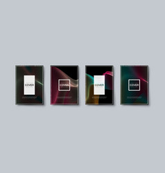 Abstract minimal cover design vector
