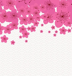 Chinese new year - plum blossom background vector