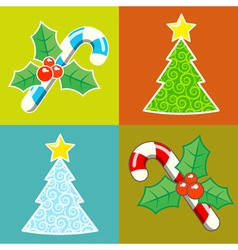 Christmas and new year vector
