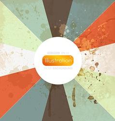 Retro colorful background vector