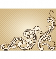 Vintage victorian background vector