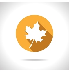 Maple leaf icon eps10 vector